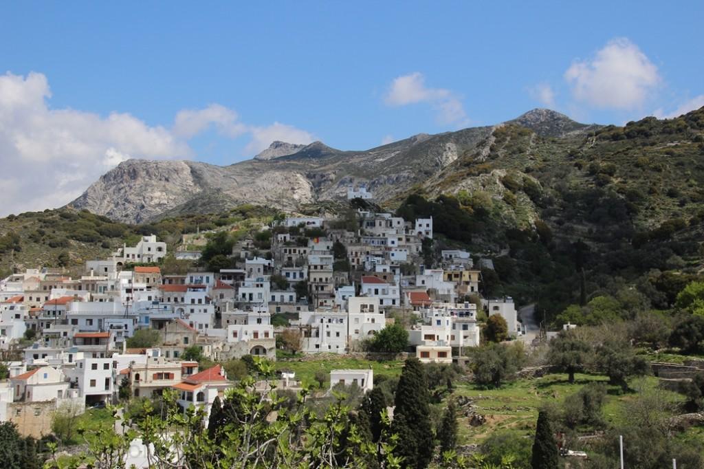 Grece - Naxos - Village montagne