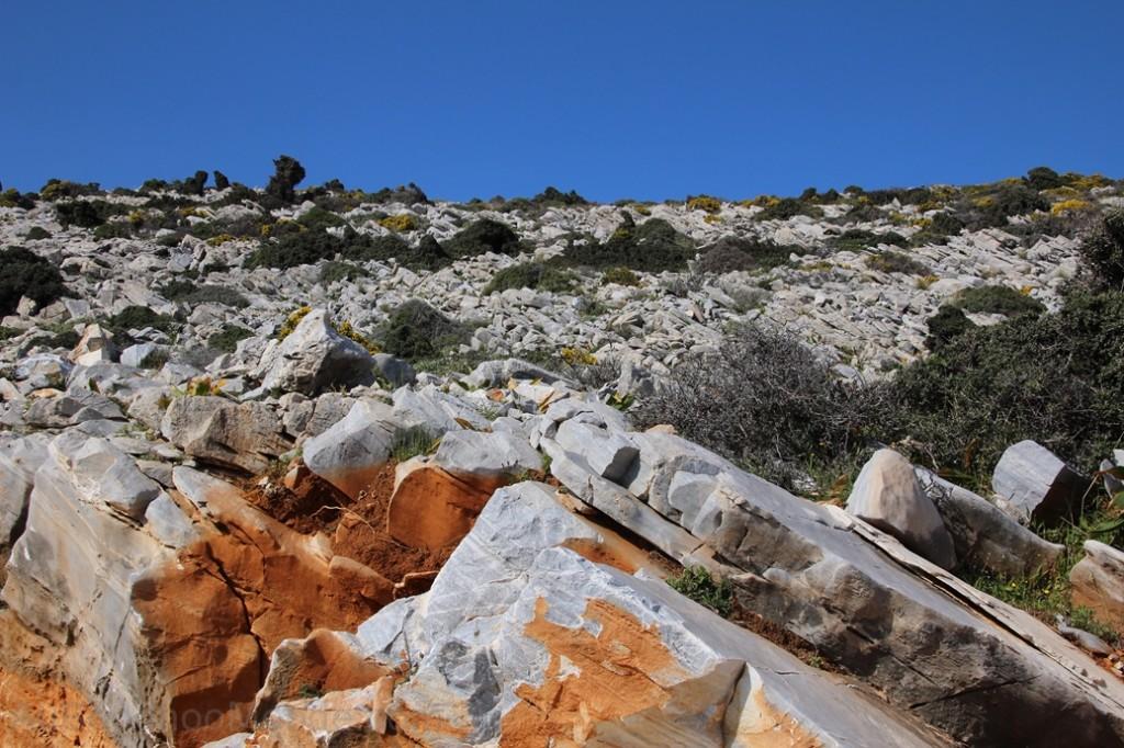 Grece - Naxos - route de montagne