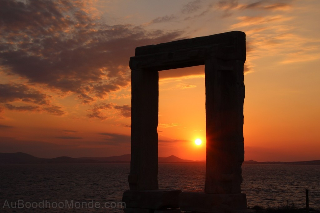 Grece - Naxos - temple Apollon