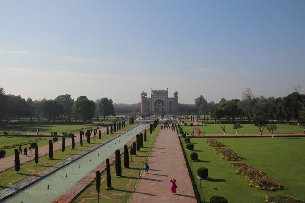 Inde - Entree Taj Mahal