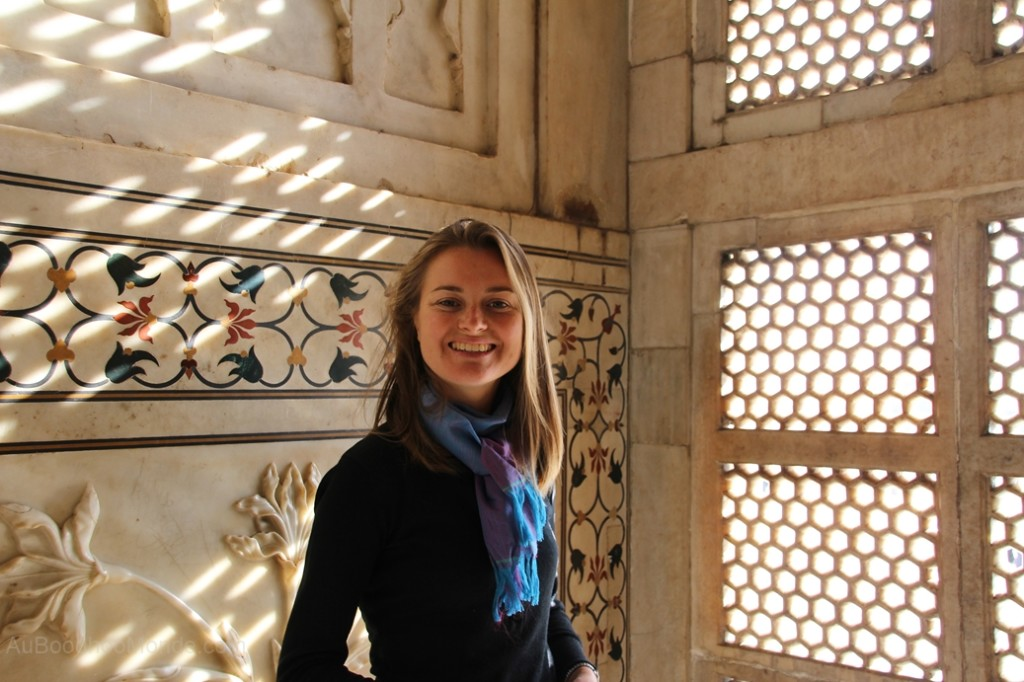 Inde- Interieur Taj Mahal