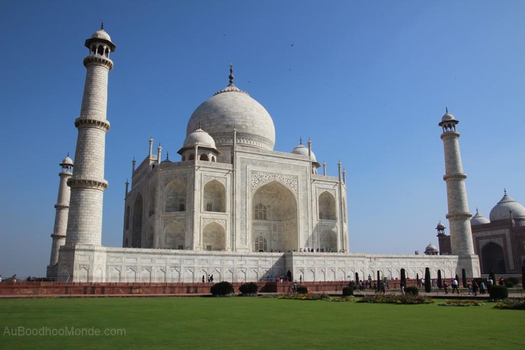 Inde - Lumiere Taj Mahal
