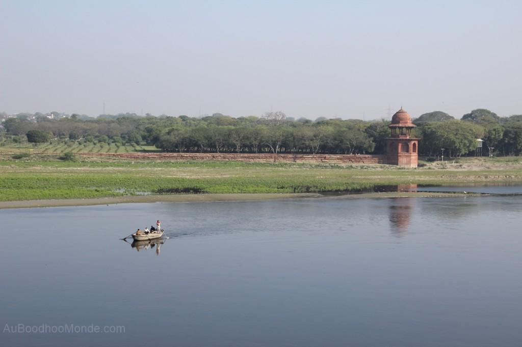 Inde - Yamuna River Taj
