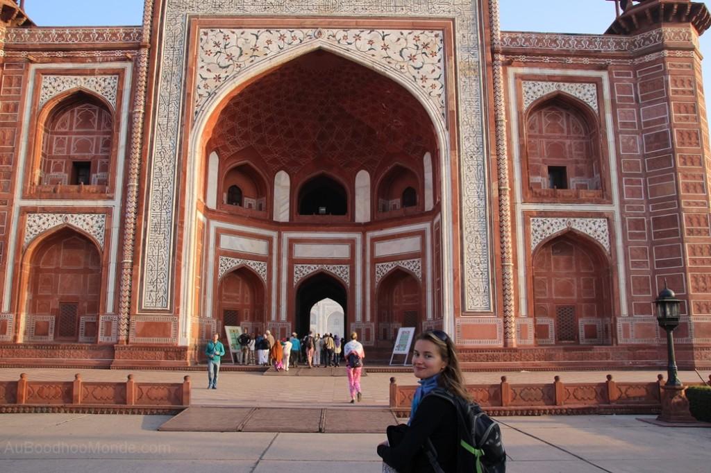 Inde - mosquee Taj Mahal