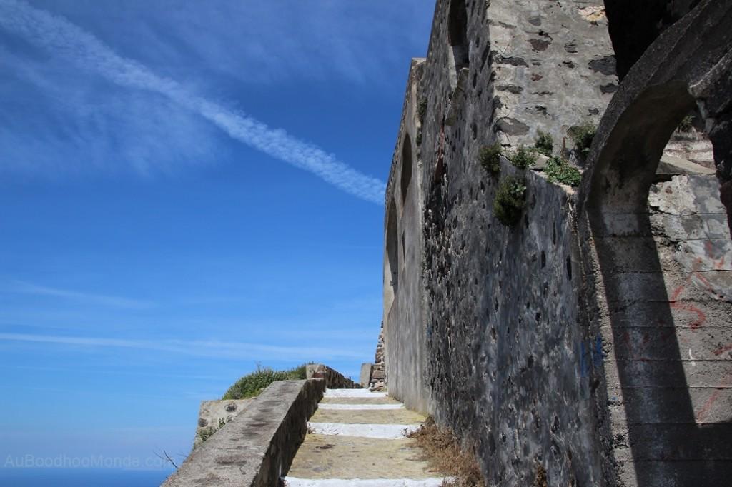 Santorin - kastro Pyrgos