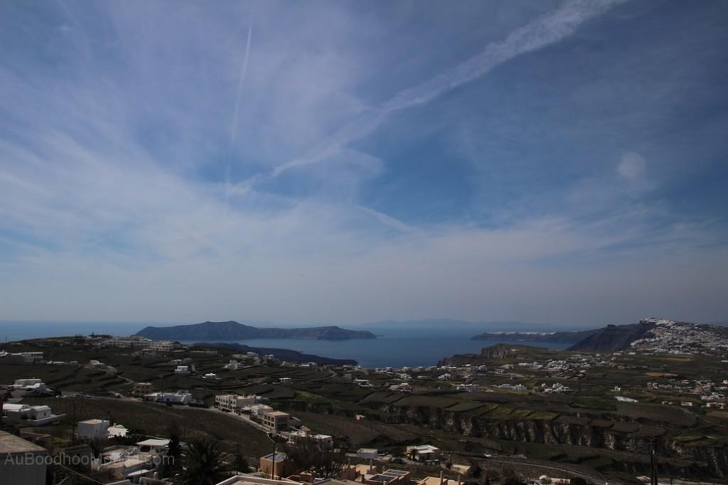 Santorin - mer Egee