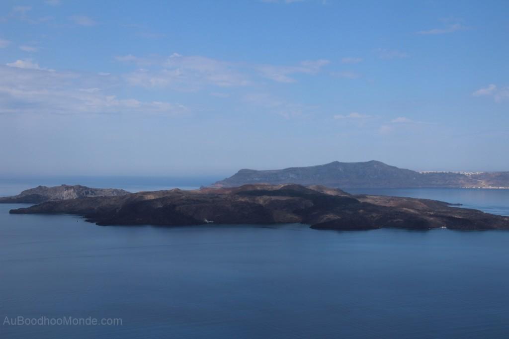 Santorin - volcan Nea Kameni