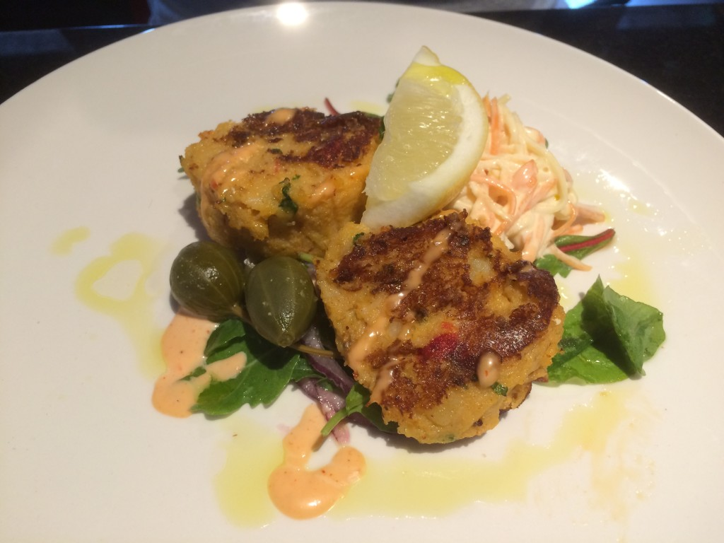 Howth - Crab cakes