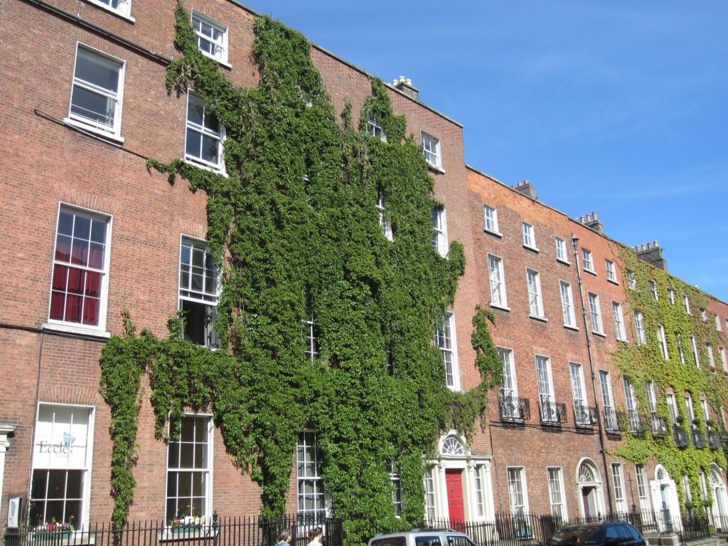 Dublin - facade maison