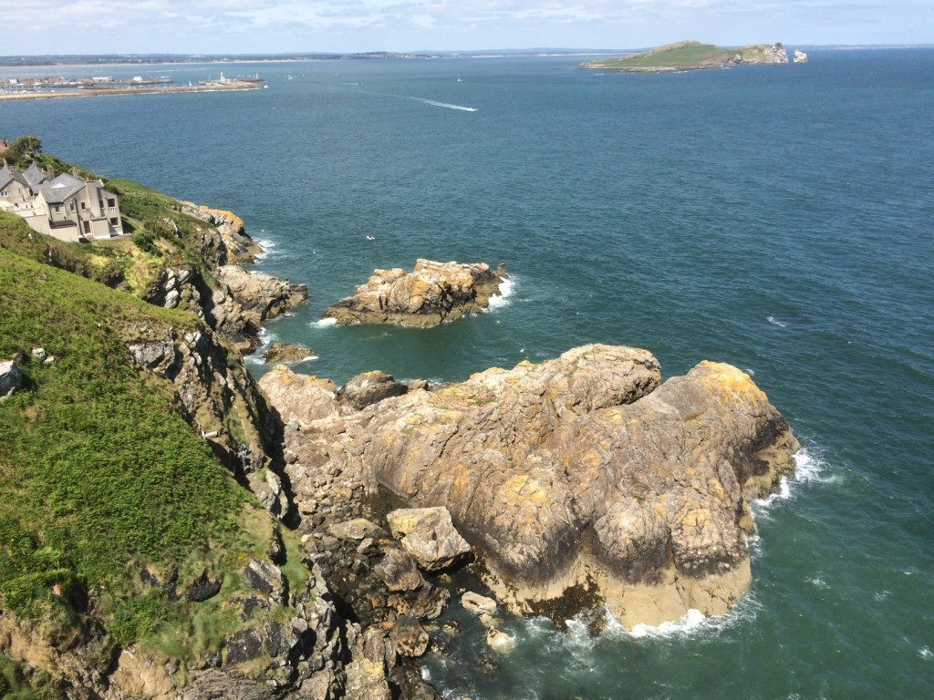 Howth Cliffs Sea